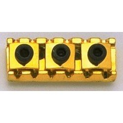 ALL PARTS BP0026002 FLOYD ROSE STYLE LOCKING NUT, 1-5/8 WIDE, GOLD, WITH HARDWARE. OUTLET