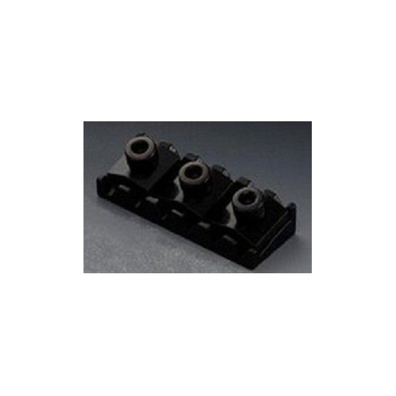 ALL PARTS BP0026L03 FLOYD ROSE STYLE LOCKING NUT, 1-5/8 WIDE, BLACK, LEFT-HANDED, WITH HARDWARE