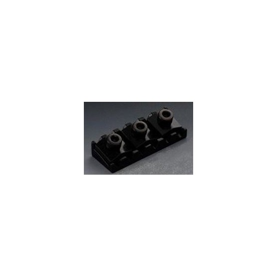 ALL PARTS BP0028003 FLOYD ROSE STYLE LOCKING NUT, 1-11/16 WIDE, BLACK, WITH HARDWARE
