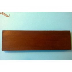 ALL PARTS BP08520R0 ROSEWOOD BRIDGE BLANK, 7 X 2-1/16 X 15/32. OUTLET
