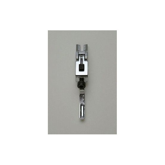 ALL PARTS BP2299010 HIGH SADDLE FOR LOW PROFILE LOCKING TREMOLO, CHROME, WITH SCREW & BLOCK, FOR D &