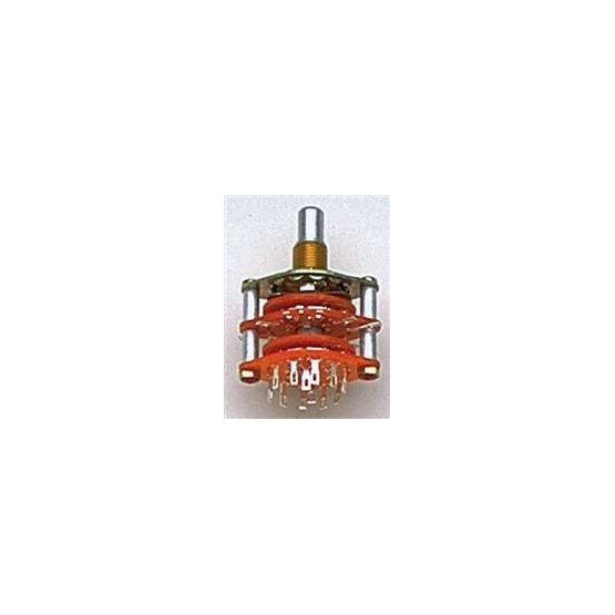 ALL PARTS EP4925000 ROTARY SWITCH, 5-POSITION, 4-POLE, SOLID SHAFT