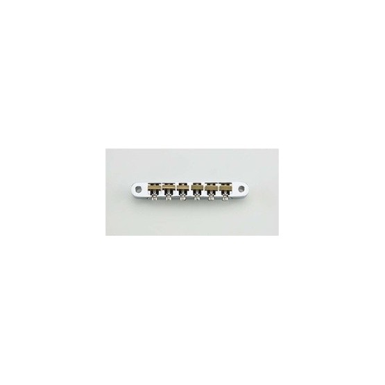 ALL PARTS GB0520010 OLD STYLE TUNEMATIC BRIDGE CHROME WITH HARDWARE