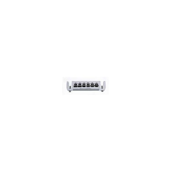 ALL PARTS GB0531010 STUD MOUNT ADJUSTABLE BRIDGE CHROME 2-3/32 STRING SPACING