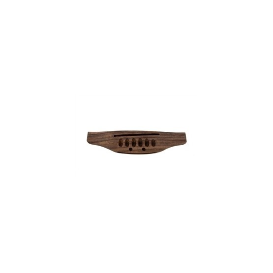 ALL PARTS GB28660R0 TOP LOADING ACOUSTIC GUITAR BRIDGE, ROSEWOOD, NO FINISH