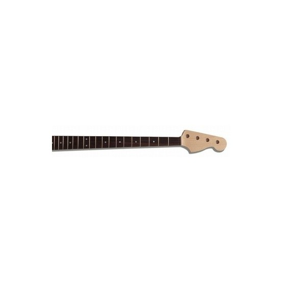 ALL PARTS JRO REPLACEMENT NECK FOR JBASS ROSEWOOD FINGERBOARD 20 FRETS