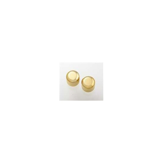 ALL PARTS MK0110002 GOLD DOME KNOBS (2) WITH SET SCREW