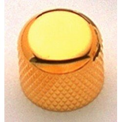 ALL PARTS MK3150002 SHORT GOLD DOME KNOBS (2) WITH SET SCREW. OUTLET