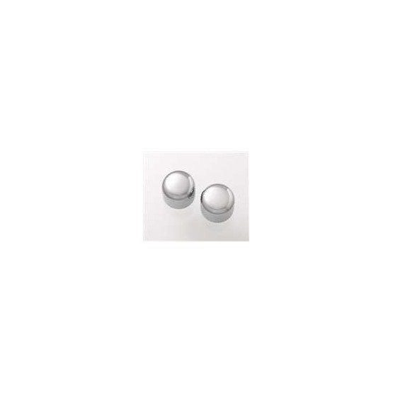 ALL PARTS MK3150010 SHORT CHROME DOME KNOBS (2) WITH SET SCREW