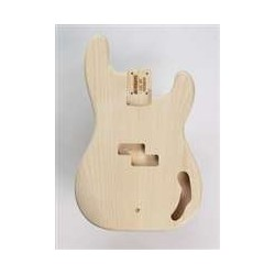 ALL PARTS PBO REPLACEMENT BODY FOR PBASS ALDER, TRADITIONAL ROUTING, NO FINISH