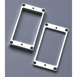ALL PARTS PC0438010 METAL HUMBUCKING PICKUP RING SET - NECK AND BRIDGE