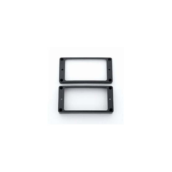 ALL PARTS PC0734023 VINTAGE CLONE HUMBUCKING PICKUP RING SET, AGED BLACK