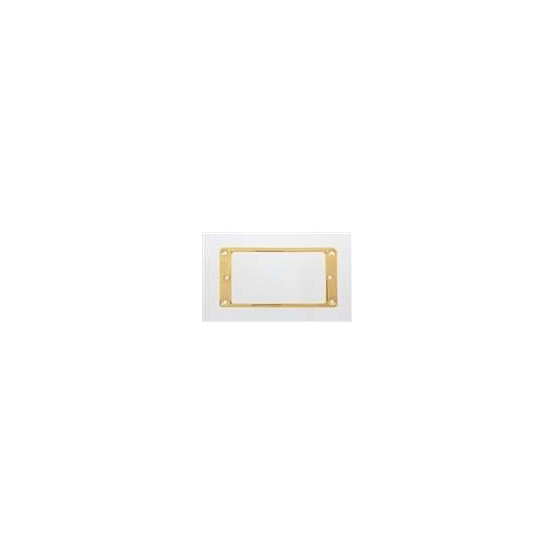 ALL PARTS PC0741002 METAL HUMBUCKING PICKUP RINGS, FLAT (2 PIECES), GOLD
