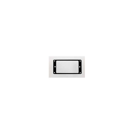 ALL PARTS PC0741003 METAL HUMBUCKING PICKUP RINGS, FLAT (2 PIECES), BLACK