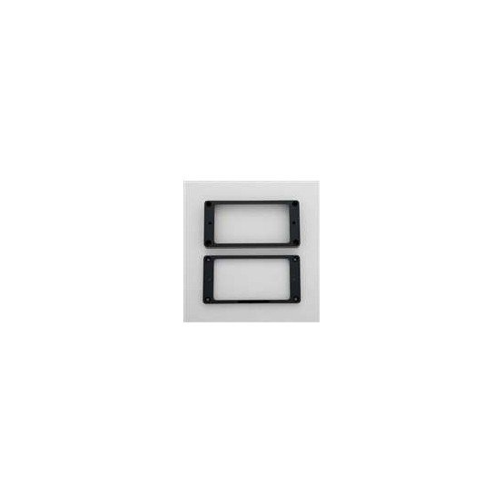 ALL PARTS PC0745023 HUMBUCKING PICKUP RING SET NECK AND BRIDGE NOT-SLANTED BLACK