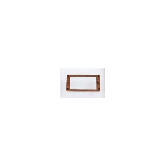 ALL PARTS PC07450B0 HUMBUCKING PICKUP RING SET - NECK AND BRIDGE, NOT-SLANTED, BUBINGA