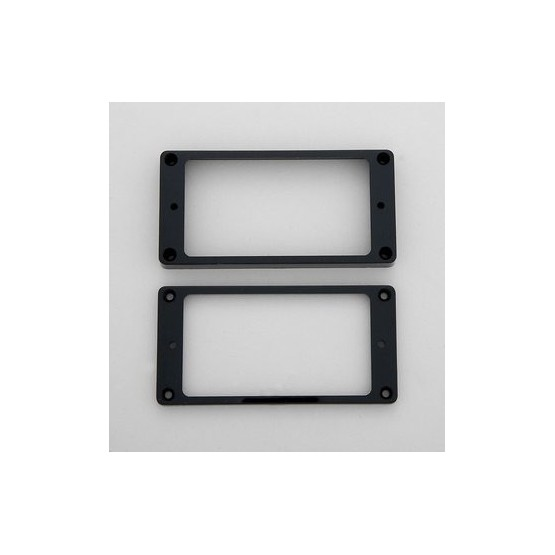 ALL PARTS PC07450E0 HUMBUCKING PICKUP RING SET - NECK AND BRIDGE, NOT-SLANTED, EBONY