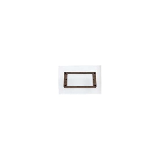 ALL PARTS PC07450W0 HUMBUCKING PICKUP RING SET - NECK AND BRIDGE, NOT-SLANTED, WALNUT
