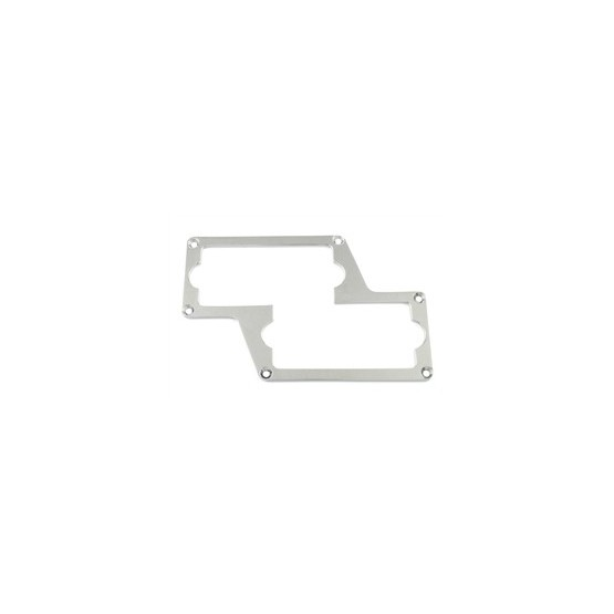 ALL PARTS PC0764010 METAL PICKUP MOUNTING RING FOR P BASS, CHROME