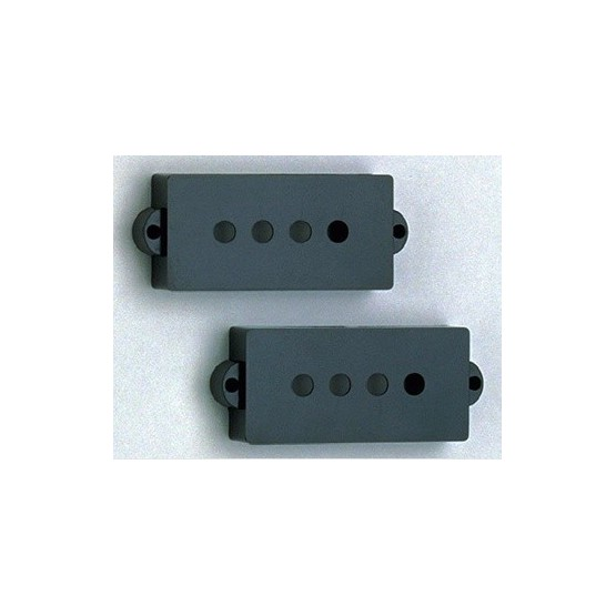 ALL PARTS PC0951023 PICKUP COVER SET FOR P BASS, BLACK