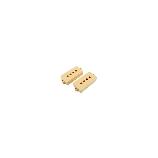 ALL PARTS PC0951028 PICKUP COVER SET FOR P BASS, CREAM