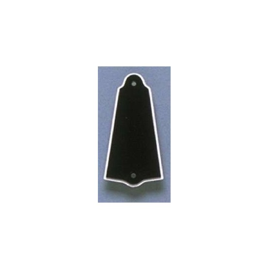 ALL PARTS PG0485023 TRUSS ROD COVER TO FIT GIBSON, BLACK, WITH WHITE TRIM