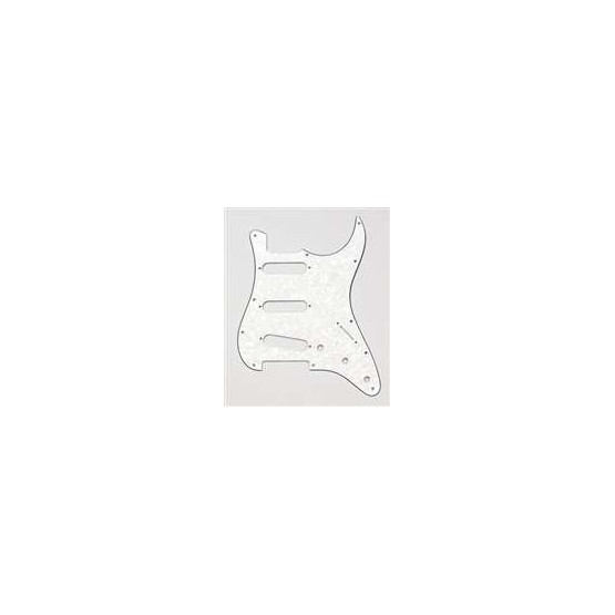 ALL PARTS PG0552065 PICK GUARD FOR STRAT PARCHMENT PEARLOID 3-PLY (PP/W/B)