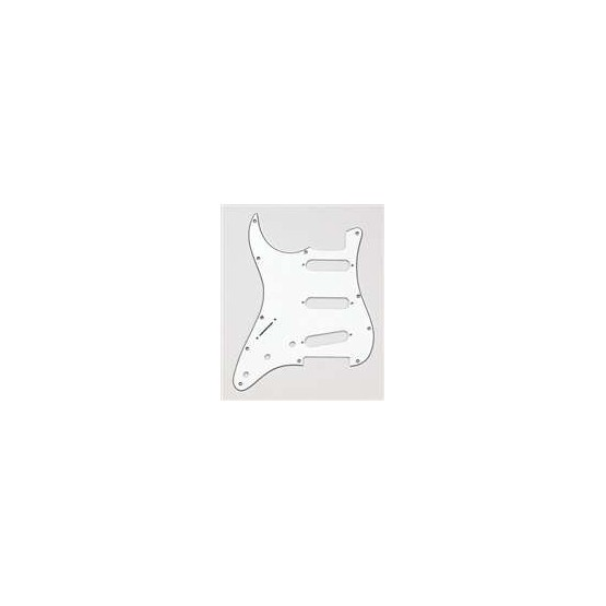 ALL PARTS PG0552L50 PICK GUARD FOR STRAT LEFT-HANDED PARCHMENT (OLD WHITE)