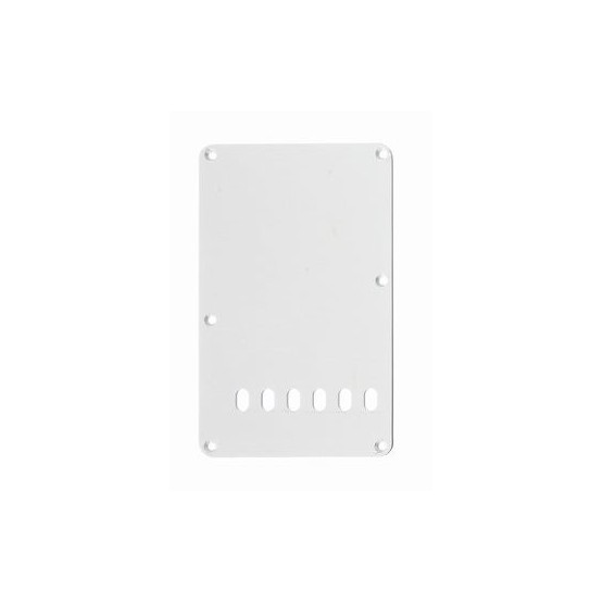 ALL PARTS PG0556025 TREMOLO SPRING COVER, WHITE 1-PLY