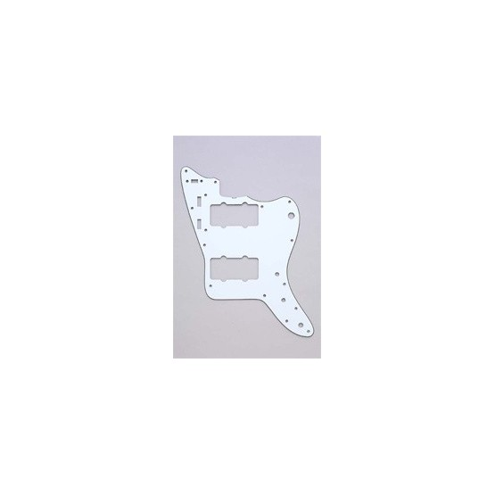 ALL PARTS PG0582035 PICK GUARD FOR JAZZMASTER, WHITE 3-PLY (W/B/W)