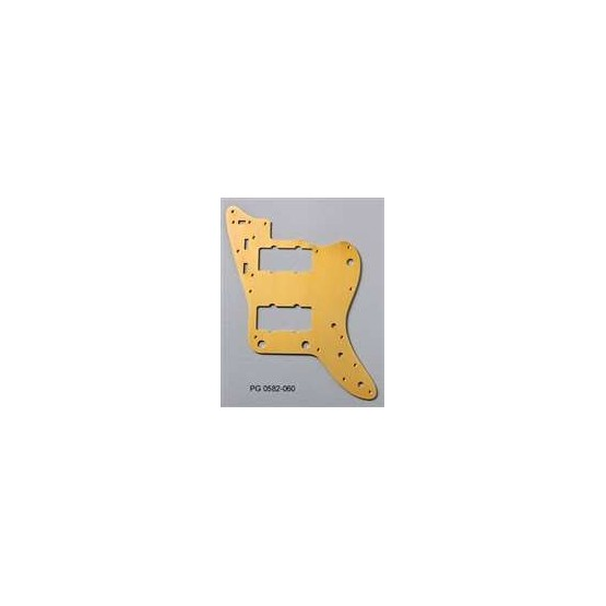 ALL PARTS PG0582060 PICK GUARD FOR JAZZMASTER, ANODIZED ALUMINUM GOLD