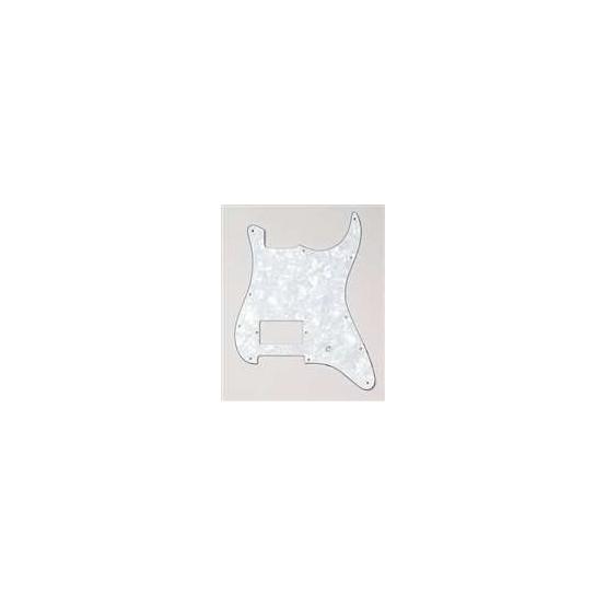 ALL PARTS PG0993055 PICK GUARD 1 HUMBUCKING - 1 POT HOLE STRAT WHITE PEARLOID