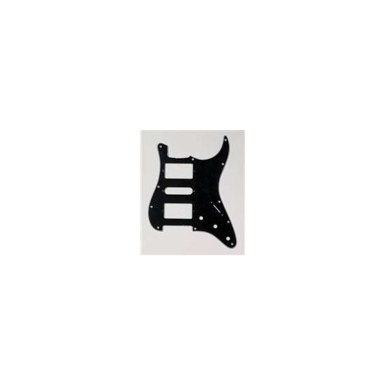 ALL PARTS PG0994033 PICK GUARD 2 HUMBUCKING - 1 SINGLE COIL FOR STRAT BLACK