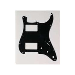 ALL PARTS PG9595033 PICK GUARD 2 HUMBUCKERS FOR STRAT, BLACK 3-PLY (11 SCREW HOLES)