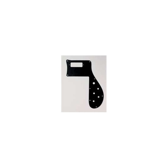 ALL PARTS PG9845023 PICK GUARD FOR RICKENBACKER BASS 4001, BLACK 1-PLY, 1973 AND EARLIER