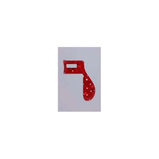 ALL PARTS PG9847044 PICK GUARD FOR RICKENBACKER BASS 4001 RED TORTOISE
