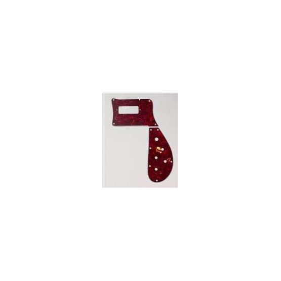 ALL PARTS PG9849044 PICK GUARD FOR RICKENBACKER BASS 4003, RED TORTOISE (RT/W/B), 2-PIECE