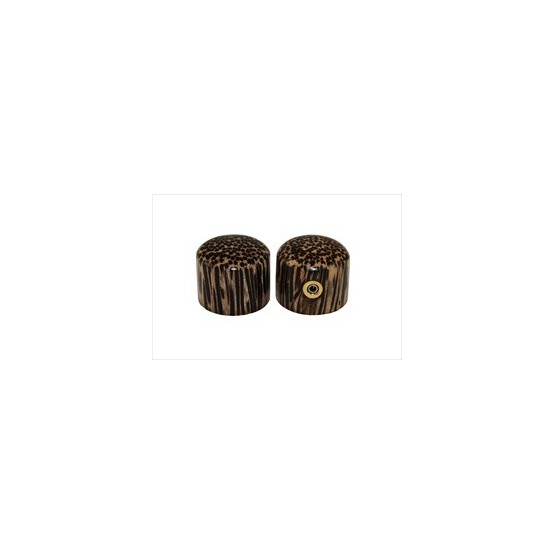 ALL PARTS PK3196000 TIGER WOOD DOME KNOBS (2) WITH SET SCREW