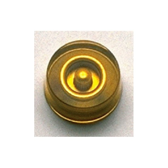ALL PARTS PK3230032 SPEED KNOBS (2) GOLD, NO NUMBERS, FITS USA SPLIT SHAFT POTS