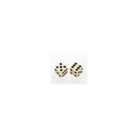 ALL PARTS PK3250028 CREAM DICE KNOBS (2 PIECES) WITH SET SCREW