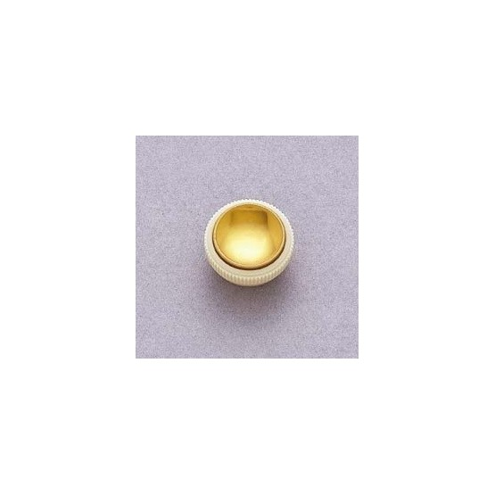 ALL PARTS PK3280000 HOFNER STYLE TEACUP KNOBS (2) WITH GOLD REFLECTOR