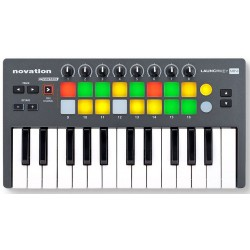 NOVATION LAUNCHKEY MINI TECLADO CONTROLADOR PARA iPAD, MAC Y PC. OUTLET