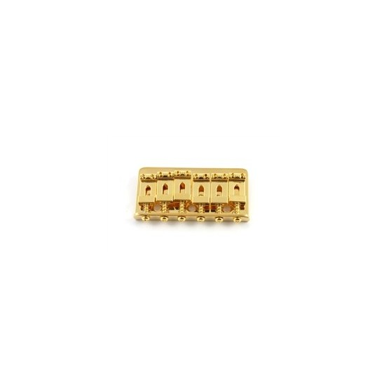 ALL PARTS SB0100002 NON-TREMOLO STEEL BRIDGE FOR STRAT GOLD PLATED