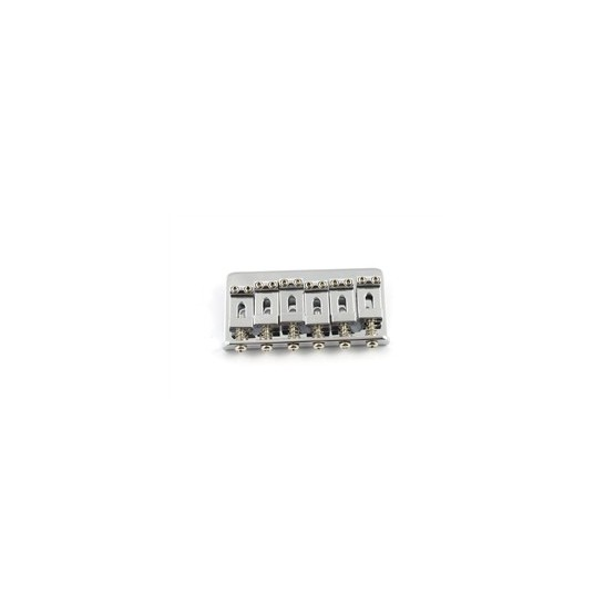 ALL PARTS SB0100010 NON-TREMOLO STEEL BRIDGE FOR STRAT CHROME PLATED