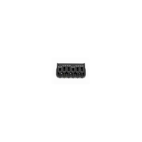 ALL PARTS SB5105003 HIPSHOT NON-TREMOLO BRIDGE WITH STEEL SADDLES BLACK