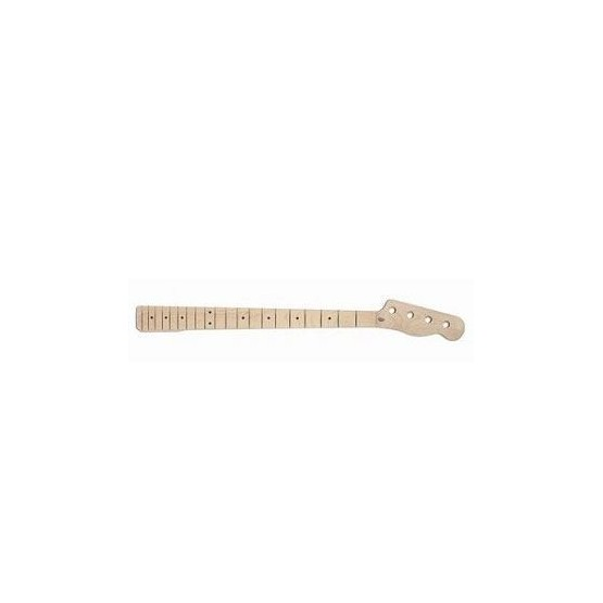 ALL PARTS TBMO REPLACEMENT NECK FOR TELE BASS SOLID MAPLE, 20 FRETS