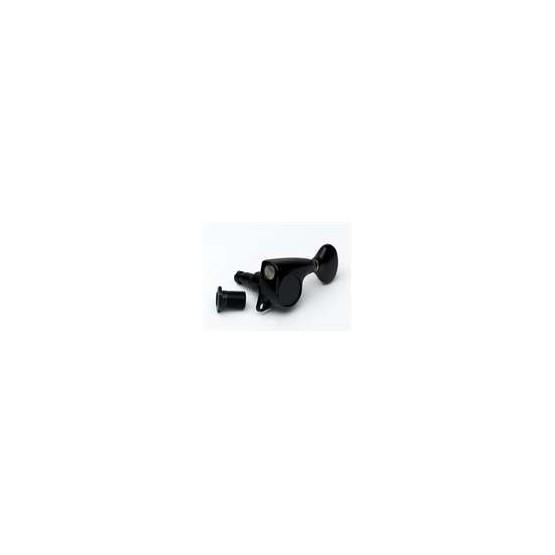 ALL PARTS TK7267003 DELTA SERIES GOTOH LOCKING 510 TUNING KEYS BLACK 6-IN-LINE