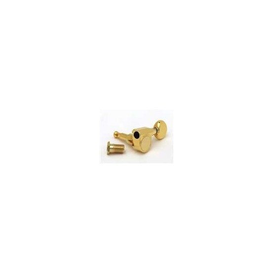 ALL PARTS TK7590002 TUNING KEYS WITH 2 MOUNTING PINS, GOLD, 6-IN-LINE