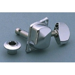 ALL PARTS TK7858010 TUNING KEYS WITH DIAGONAL MOUNTING HOLES 3 X 3 CHROME