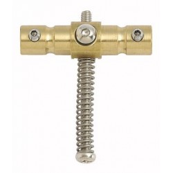 WILKINSON BP2126008 SWIVEL BASS BRIDGE BARRELS (SET OF 2), WITH SPRINGS AND SCREWS, BRASS. OUTLET